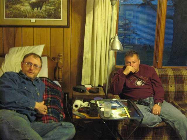 Dad and Wayne