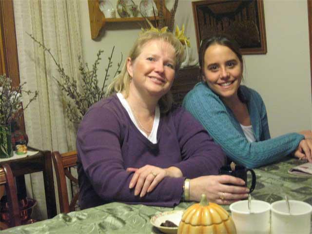 Erin and Ann