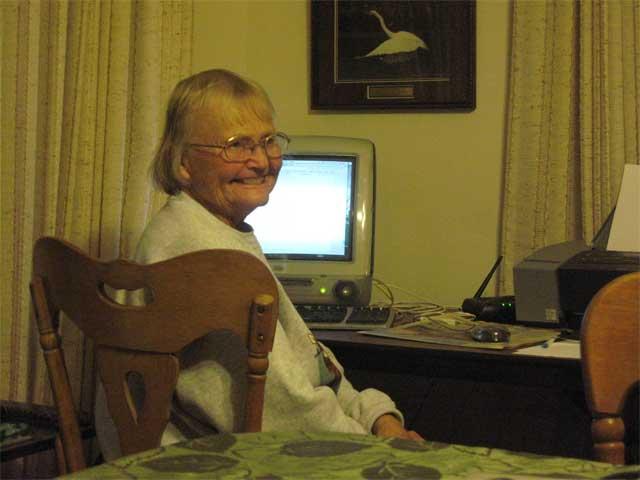 Grandma and Computer